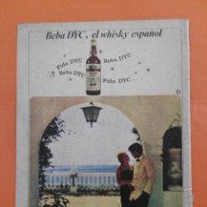 Coleccionismo de Revista Garbo: ANUNCIO PUBLICIDAD AÑO 1965 WHISKY DYC. Lote 205474781