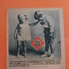 Coleccionismo de Revista Garbo: ANUNCIO PUBLICIDAD AÑO 1965 HOGAR NYLON DE ESPAÑA. Lote 205475691