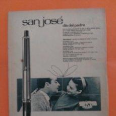 Coleccionismo de Revista Garbo: ANUNCIO PUBLICIDAD AÑO 1965 BOLÍGRAFO ÉPOCA. Lote 205476100