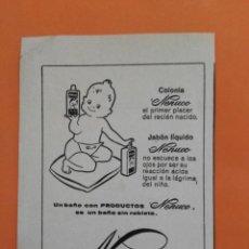 Coleccionismo de Revista Garbo: ANUNCIO PUBLICIDAD AÑO 1965 COSMÉTICA PERFUMERÍA NENUCO. Lote 205509730