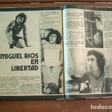Coleccionismo de Revista Garbo: GARBO / HOMBRE Nº 18, MIGUEL RIOS, VICENTE PARRA, MANOLO ESCOBAR, ROCIO DURCAL, RAPHAEL. Lote 205830780