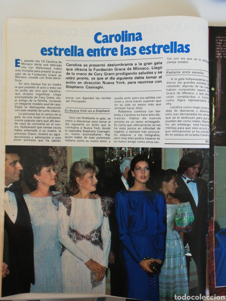 Coleccionismo de Revista Garbo: GARBO - N* 1593 - octubre 1983 Grace Kelly, Carolina de Mónaco, Enfermos de Colza - Foto 2 - 206220793