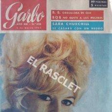 Coleccionismo de Revista Garbo: ANTIGÜA REVISTA GARBO Nº 626 - AÑO 1965. Lote 206572848