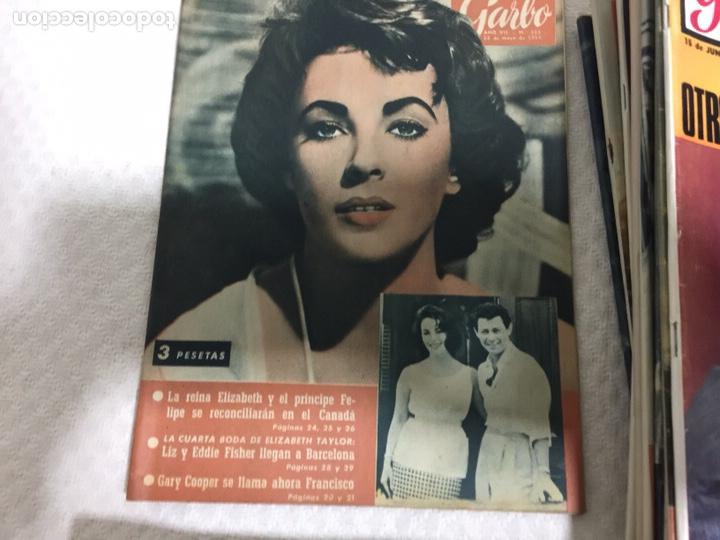 Coleccionismo de Revista Garbo: James Bond Elizabeth Taylor Audrey Hepburn lote de 75 revistas garbo - Foto 3 - 207374951