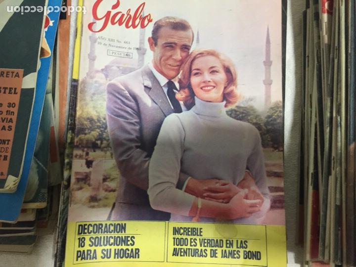 Coleccionismo de Revista Garbo: James Bond Elizabeth Taylor Audrey Hepburn lote de 75 revistas garbo - Foto 4 - 207374951