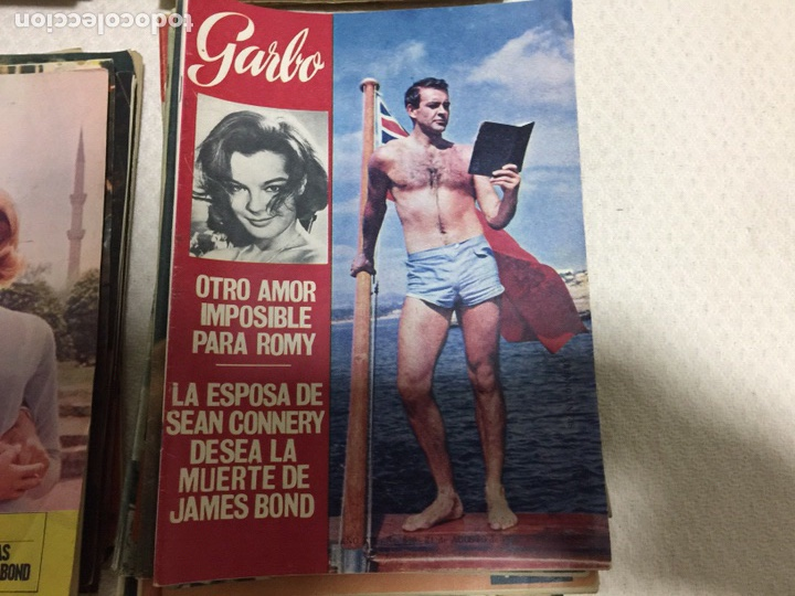 Coleccionismo de Revista Garbo: James Bond Elizabeth Taylor Audrey Hepburn lote de 75 revistas garbo - Foto 5 - 207374951