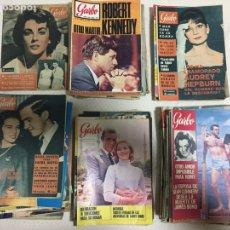 Coleccionismo de Revista Garbo: JAMES BOND ELIZABETH TAYLOR AUDREY HEPBURN LOTE DE 75 REVISTAS GARBO. Lote 207374951