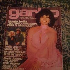 Coleccionismo de Revista Garbo: REVISTA GARBO - N 1203 - 1976 - CARMEN SEVILLA, BEATRIZ ESCUDERO, TERESA MALDONADO, INMA DE SANTIS. Lote 207424042