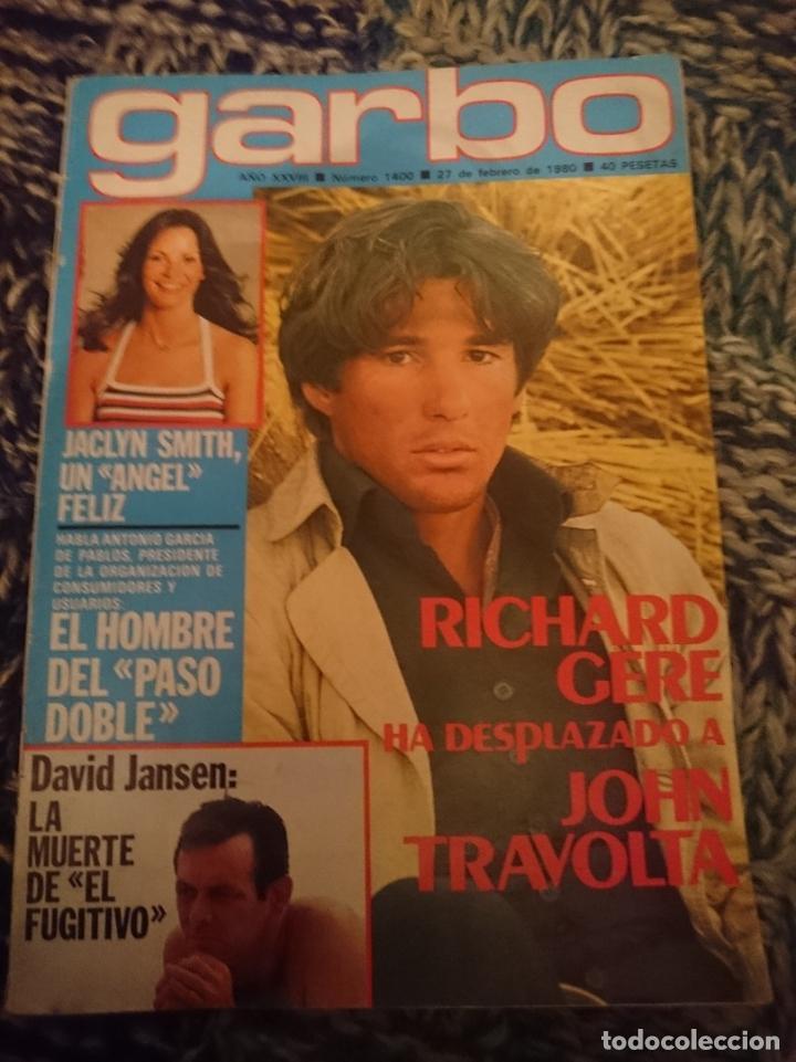 GARBO 1980 - N 1400 -27 FEBRERO 1980 - INMA DE SANTIS, ISABEL PANTOJA, MARI TRINI, DAVID JANSSEN (Coleccionismo - Revistas y Periódicos Modernos (a partir de 1.940) - Revista Garbo)