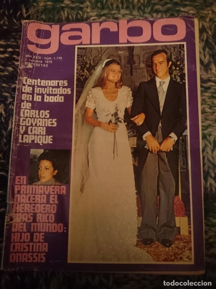 GARBO - N 1170 - 1 OCTUBRE 1975 20E -INMA DE SANTIS (Coleccionismo - Revistas y Periódicos Modernos (a partir de 1.940) - Revista Garbo)
