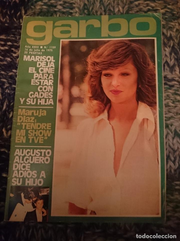 GARBO -N 1159 - 16 JULIO 1975 MARISOL, SARA MONTIEL, INMA DE SANTIS, CLAUDE FRANCOIS, ANA BELEN (Coleccionismo - Revistas y Periódicos Modernos (a partir de 1.940) - Revista Garbo)