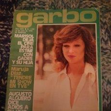 Coleccionismo de Revista Garbo: GARBO -N 1159 - 16 JULIO 1975 MARISOL, SARA MONTIEL, INMA DE SANTIS, CLAUDE FRANCOIS, ANA BELEN. Lote 207427981