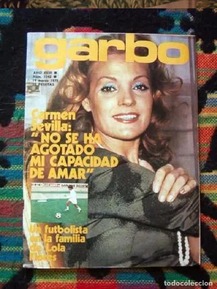 GARBO - MARZO 1975 - INMA DE SANTIS, ANTONIO FLORES,, CARMEN SEVILLA, BARBI BENTON, CECILIA (Coleccionismo - Revistas y Periódicos Modernos (a partir de 1.940) - Revista Garbo)