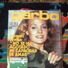 Coleccionismo de Revista Garbo: GARBO - MARZO 1975 - INMA DE SANTIS, ANTONIO FLORES,, CARMEN SEVILLA, BARBI BENTON, CECILIA. Lote 207428076