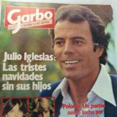 Coleccionismo de Revista Garbo: GARBO NUM 1498 5 ENERO 1982, JULIO IGLESIAS. Lote 208125591