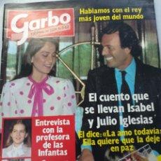 Colecionismo da Revista Garbo: GARBO NUM 1577, 11 JULIO 1983. JULIO IGLESIAS. Lote 208128845