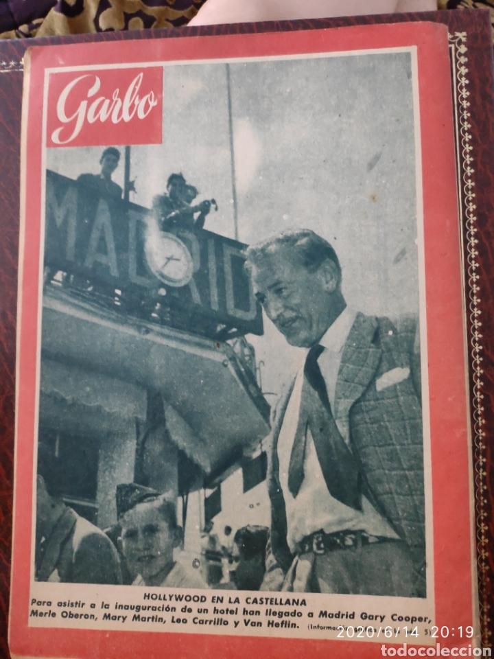 Coleccionismo de Revista Garbo: Revista GARBO - Foto 2 - 208180241