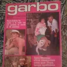 Coleccionismo de Revista Garbo: GARBO N 1364 - JUNIO 1979 - INMA DE SANTIS - FELIX RODRIGUEZ DE LA FUENTE - PAYASOS DE LA TELE. Lote 209300207