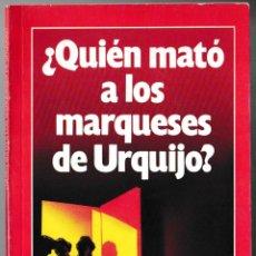 Coleccionismo de Revista Garbo: QUIÉN MATÓ A LOS MARQUESES DE URQUIJO - GARBO 1983. Lote 210174935