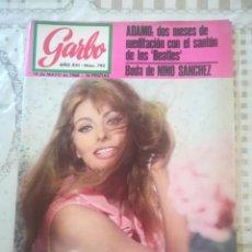 Coleccionismo de Revista Garbo: GARBO Nº 793 - SOFÍA LOREN / ADAMO / NINO SANCHEZ. Lote 210753352