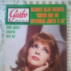 Coleccionismo de Revista Garbo: GARBO Nº 795 - GINA LOLLOBRIGIDA. Lote 210755137