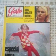 Coleccionismo de Revista Garbo: GARBO Nº 785 - BRIGITTE BARDOT / ESPECIAL MODA INFANTIL. Lote 210755742