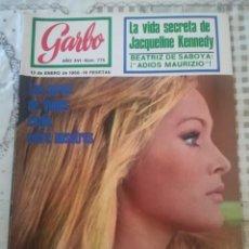 Coleccionismo de Revista Garbo: GARBO Nº 775 - URSULA ANDRESS / JACQUELINE KENNEDY / LOS SERES DE VENUS ESTÁN ENTRE NOSOTROS. Lote 210757147