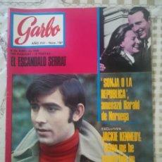 Coleccionismo de Revista Garbo: GARBO Nº 787 - EL ESCÁNDALO SERRAT / HARALD DE NORUEGA / JACKIE KENNEDY. Lote 210759824
