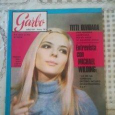 Coleccionismo de Revista Garbo: GARBO Nº 783 - CONSTANTINO Y ANA MARIA, FELICIDAD ROTA. Lote 210759974