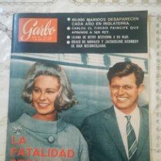 Coleccionismo de Revista Garbo: GARBO Nº 590 - LA FATALIDAD PERSIGUE A LOS KENNEDY / GRACE DE MÓNACO Y JACQUELINE KENNEDY. Lote 210760714