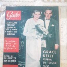 Coleccionismo de Revista Garbo: GARBO Nº 598 - GRACE KELLY ESPERA SU TERCER HIJO / ALAIN DELON SE HA CASADO. Lote 210761044