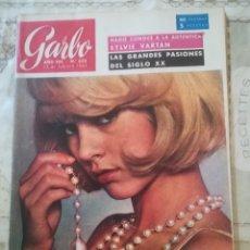 Coleccionismo de Revista Garbo: GARBO Nº 623 - SYLVIE VARTAN / LAS GRANDES PASIONES DEL SIGLO XX. Lote 210766490
