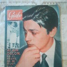 Coleccionismo de Revista Garbo: GARBO Nº 612 - ALAIN DELON. Lote 210769047