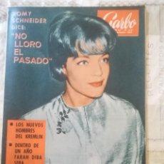 Coleccionismo de Revista Garbo: GARBO Nº 610 - ROMY SCHNEIDER / LOS NUEVOS HOMBRES DEL KREMLIN. Lote 210770012