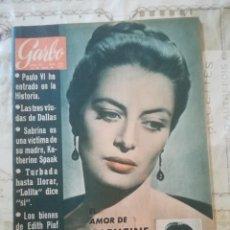 Coleccionismo de Revista Garbo: GARBO Nº 566 - EL AMOR DE CAPUCINE HA SALVADO A WILLAM HOLDEN. Lote 210810777