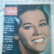 Coleccionismo de Revista Garbo: GARBO Nº 565 - JANE FONDA / PRINCIPALES ACONTECIMIENTOS DE 1963. Lote 210810934