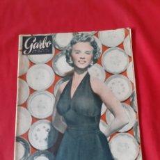 Coleccionismo de Revista Garbo: ANTIGUA REVISTA GARBO NÚMERO 106 AÑO 1955. Lote 211419820
