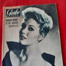 Coleccionismo de Revista Garbo: ANTIGUA REVISTA GARBO NÚMERO 116 AÑO 1955. Lote 211420634