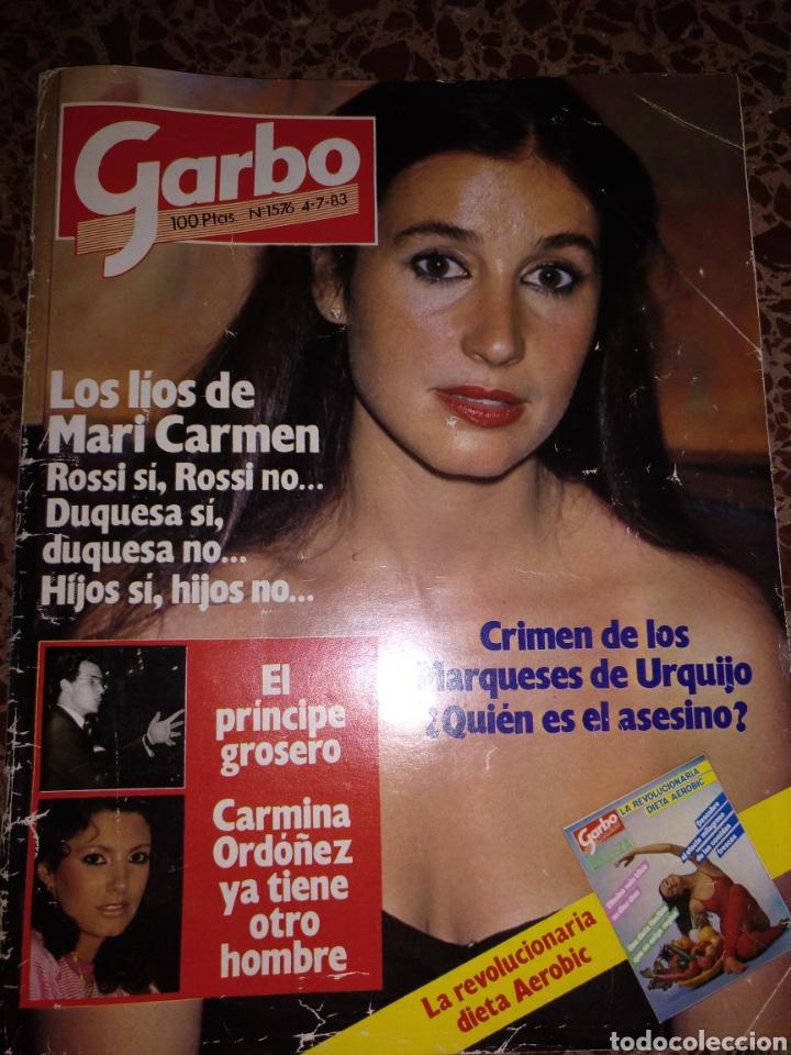 GARBO, NUM 1756 4 JULIO 1983. CARMEN ROSSI (Coleccionismo - Revistas y Periódicos Modernos (a partir de 1.940) - Revista Garbo)