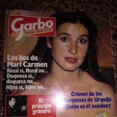 Coleccionismo de Revista Garbo: GARBO, NUM 1756 4 JULIO 1983. CARMEN ROSSI. Lote 211561017