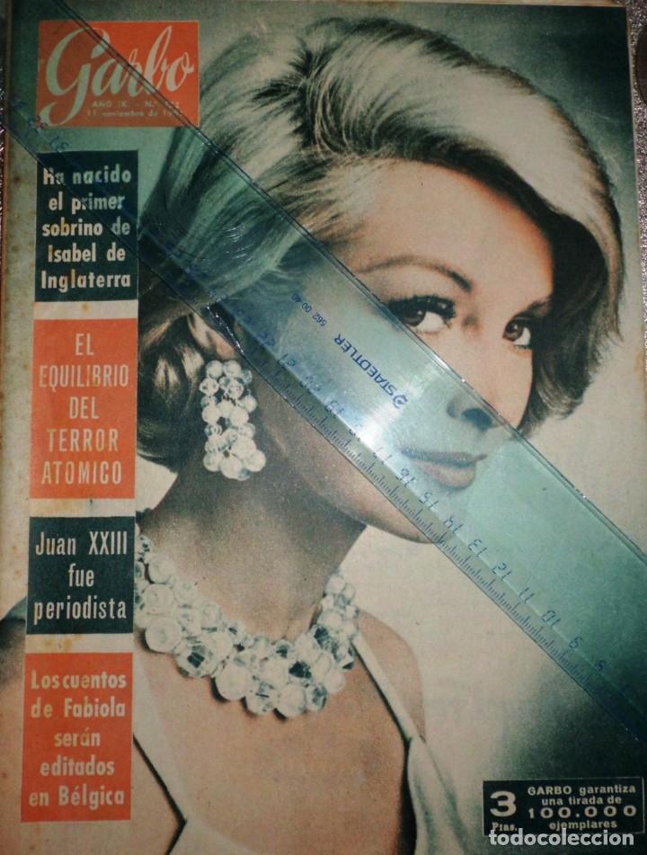 REVISTA GARBO 11-NOVIEMBRE-1961 PABLO PICASSO, JUAN XXVIII, EL REY GUSTAVO DE SUECIA (Coleccionismo - Revistas y Periódicos Modernos (a partir de 1.940) - Revista Garbo)