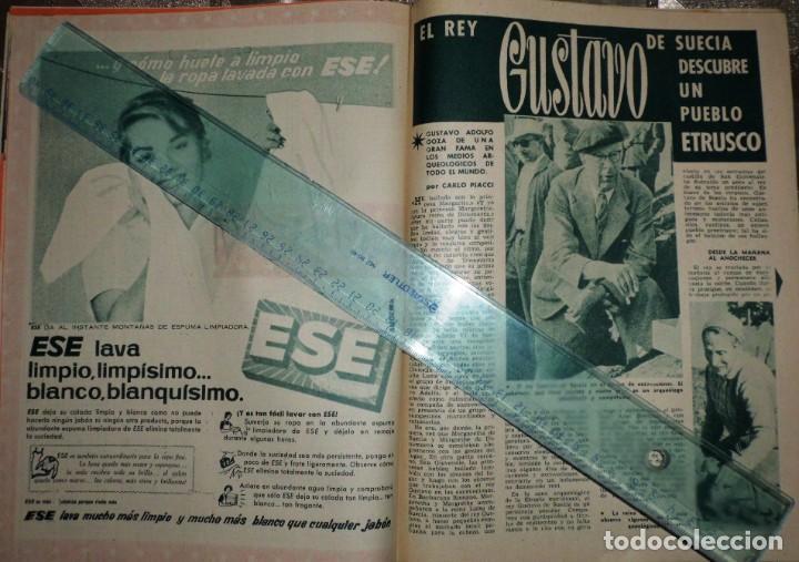 Coleccionismo de Revista Garbo: REVISTA GARBO 11-NOVIEMBRE-1961 Pablo Picasso, Juan XXVIII, el Rey Gustavo de Suecia - Foto 4 - 211565276