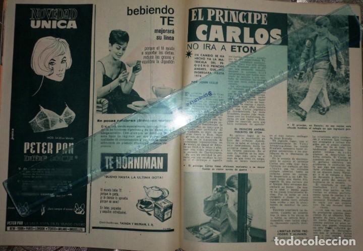 Coleccionismo de Revista Garbo: REVISTA GARBO 11-NOVIEMBRE-1961 Pablo Picasso, Juan XXVIII, el Rey Gustavo de Suecia - Foto 5 - 211565276