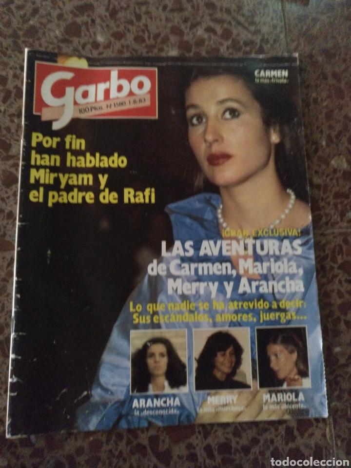 GARBO NUM 1580 1 AGOSTO 1983.CARMEN, MARIOLA MERRY (Coleccionismo - Revistas y Periódicos Modernos (a partir de 1.940) - Revista Garbo)