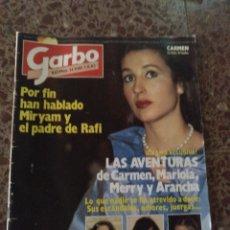 Coleccionismo de Revista Garbo: GARBO NUM 1580 1 AGOSTO 1983.CARMEN, MARIOLA MERRY. Lote 211567815