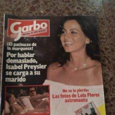 Coleccionismo de Revista Garbo: GARBO NUM 1590 10 OCTUBRE 1983. ISABEL PREYSLER. Lote 211568101