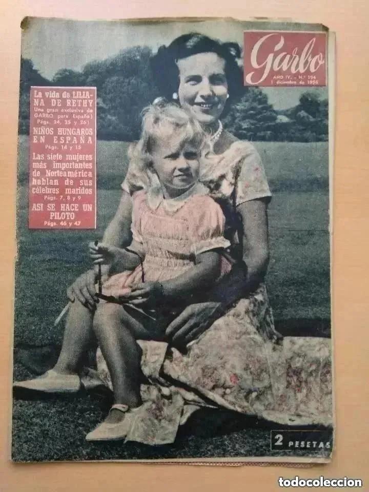 GARBO. NUM 194. DICIEMBRE DE 1956 (Coleccionismo - Revistas y Periódicos Modernos (a partir de 1.940) - Revista Garbo)