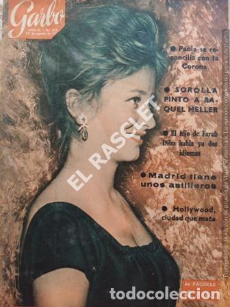 ANTIGÜA REVISTA GARBO Nº 493 - AÑO 1962 (Coleccionismo - Revistas y Periódicos Modernos (a partir de 1.940) - Revista Garbo)