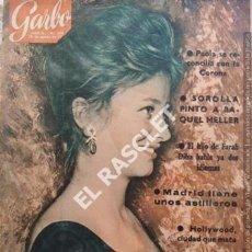Coleccionismo de Revista Garbo: ANTIGÜA REVISTA GARBO Nº 493 - AÑO 1962. Lote 211692646