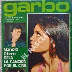 Coleccionismo de Revista Garbo: ANTIGÜA REVISTA GARBO Nº 1181 - AÑO 1975. Lote 211692755